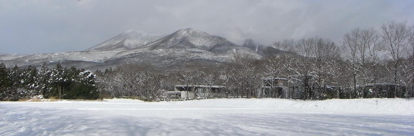 那須の冬景色