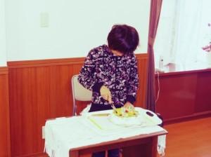 この日はお友達のお誕生日でした!